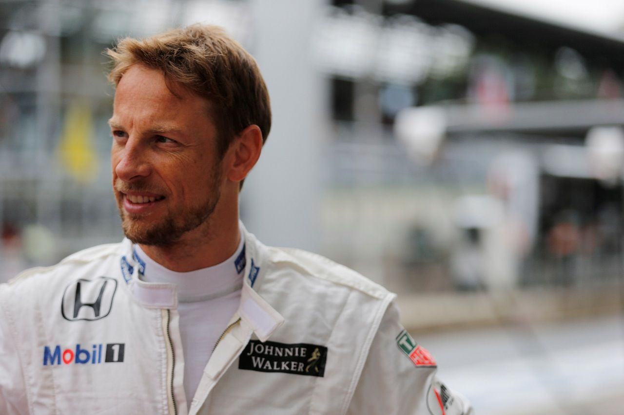 Jenson Button - das war der David Beckham der Formel 1.