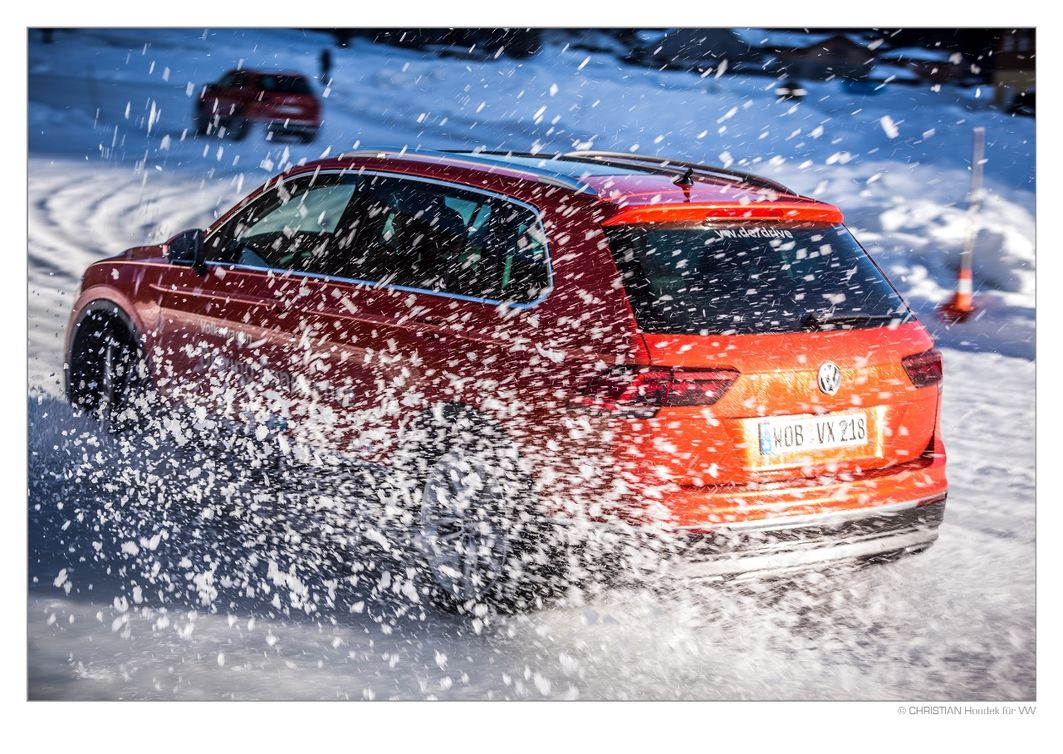 FEATURE: VW DRIVING EXPERIENCE Ist der Tiguan ein  Wintersportler?