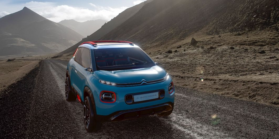 NEWS: CITROËN C-AIRCROSS CONCEPT
