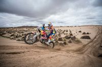 Dreimal in Serie am Podium der Dakar.