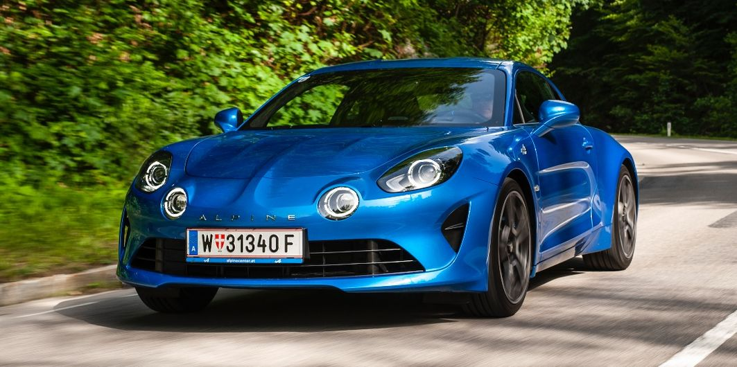 TEST: ALPINE A110