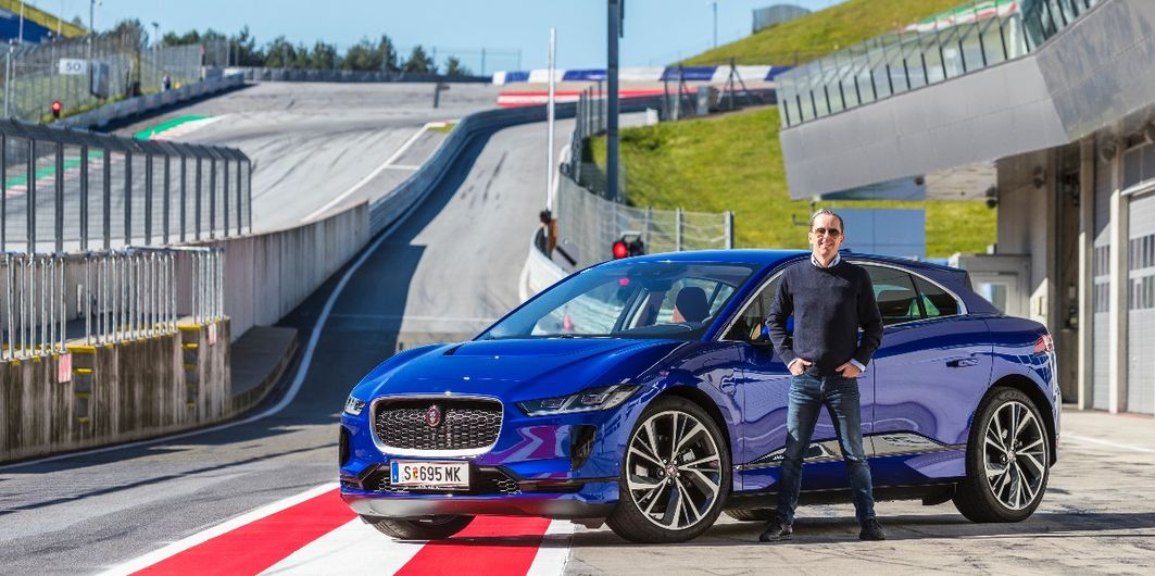 JAGUAR I-PACE AM RED BULL RING