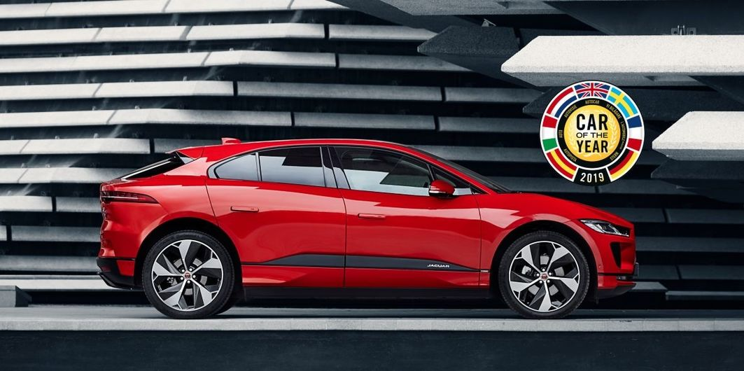 JAGUAR I-PACE: CAR OF THE YEAR 2019